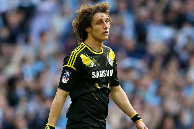 Europa League and Top-Four Would Be Success, Says Chelsea's David Luiz