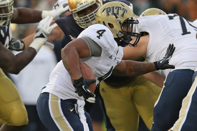 Report: Pitt RB Rushel Shell Transfers to UCLA