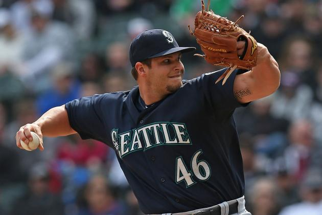 Mariners Place Pryor on 15-Day DL with Lat Tear