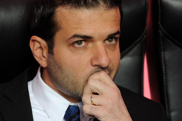 Serie A: Massimo Moratti Backing Inter Milan Coach Andrea Stramaccioni