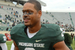 Michigan State's Will Gholston Among Those Visiting Lions Today