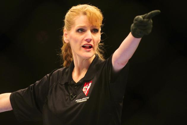 Kim Winslow Perfects the Art of Too Much Refereeing During Tate vs. Zingano