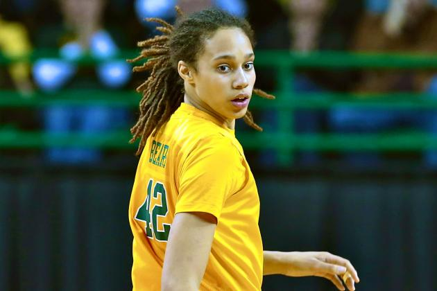 Brittney Griner Selected No. 1 Overall in WNBA Draft by Phoenix Mercury