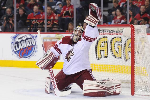 Mike Smith out vs. Sharks with Lower-Body Injury