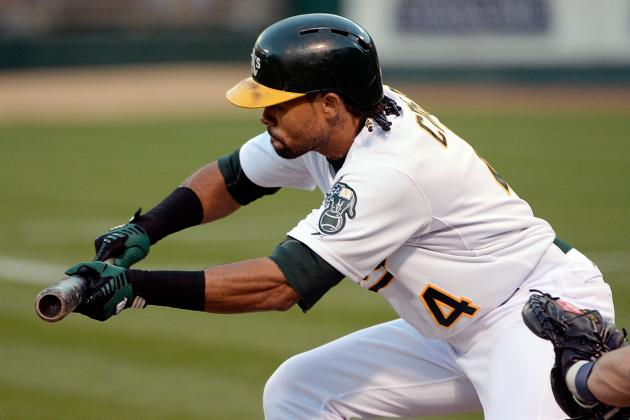 Coco Crisp Back in A's Lineup, Josh Reddick Gets Night off