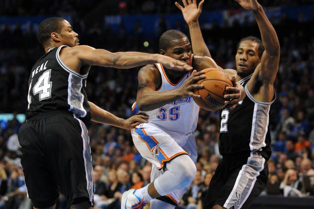 OKC Victory Locks Spurs into No. 2 Spot in West