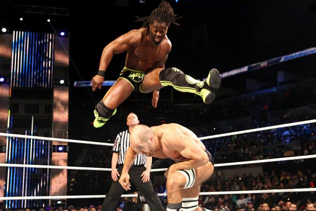 Kofi Kingston Wins United States Championship on WWE Raw's Match of the Night