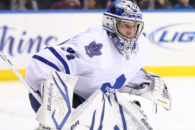 Maple Leafs: James Reimer Shuts out Devils