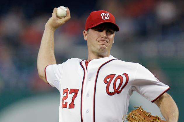 Backed by Nationals' Bats, Zimmermann Dominates in Complete Game Victory