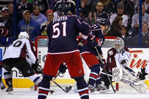 Blue Jackets 4, Avalanche 3, OT