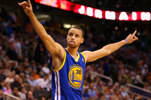Stephen Curry Needs 2 Three-Pointers vs. Blazers to Break NBA Record