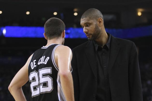 Spurs' First-Round Foe Still Up in Air