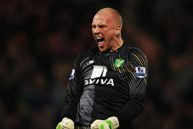 Norwich Goalkeeper John Ruddy Set to Return from Injury vs. Reading