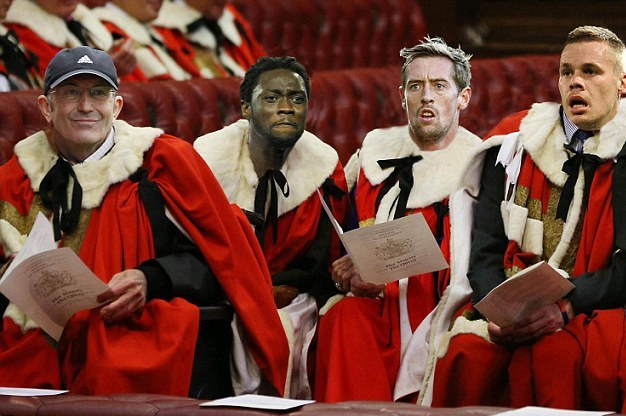 Stoke Taking a Break from EPL Survival Scrap to Visit the House of Lords