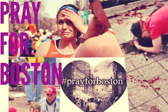Instagram: McKayla's #PrayForBoston Tribute