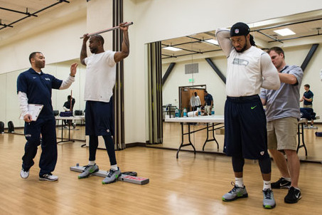 Seahawks Return to a Series of Movement Tests