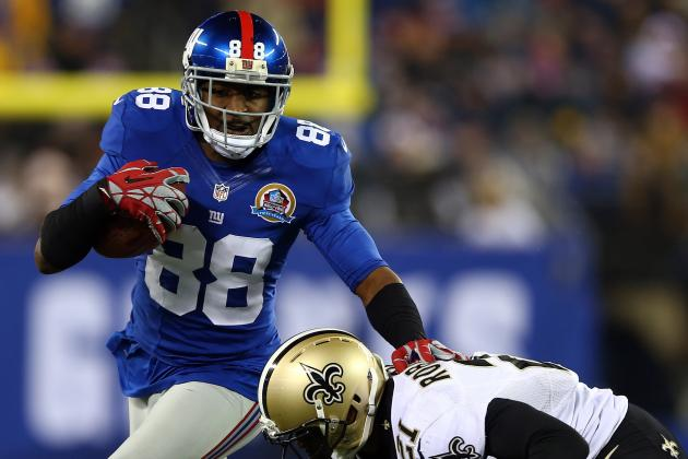 Hakeem Nicks Back on Course for New York Giants