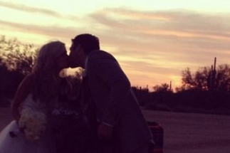 Samantha Steele and Christian Ponder Wedding Party