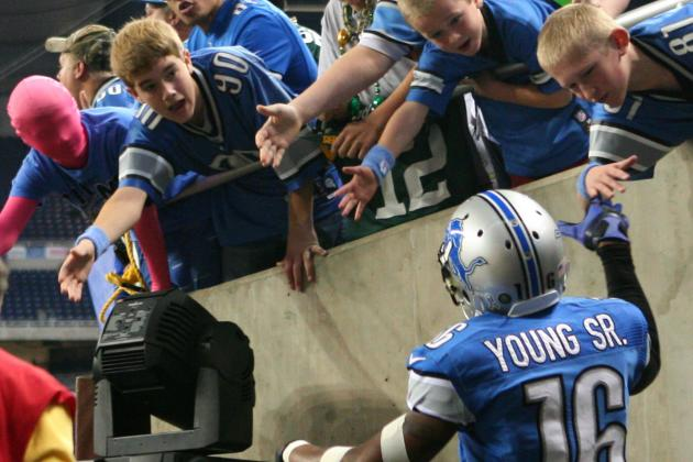 Titus Young Apologizes Detroit Lions Fans, Kind of