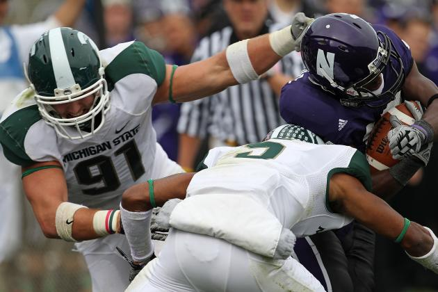 Tyler Hoover Emerging as Top Defensive Tackle for Spartans