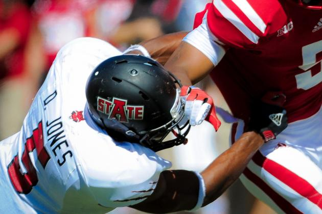 Arkansas State Safety Don Jones Visiting Texans Today