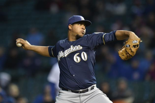 Wily Peralta's Big Arm Has Big Potential