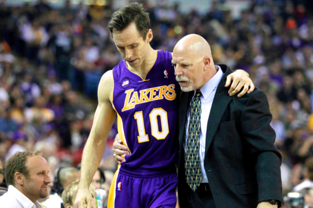 Is It Officially Time for Lakers Nation to Panic over Steve Nash's Health?