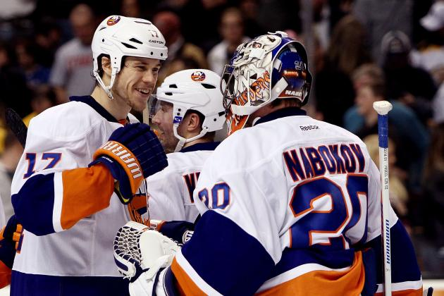Nabokov Providing Goaltending, Leadership for Islanders