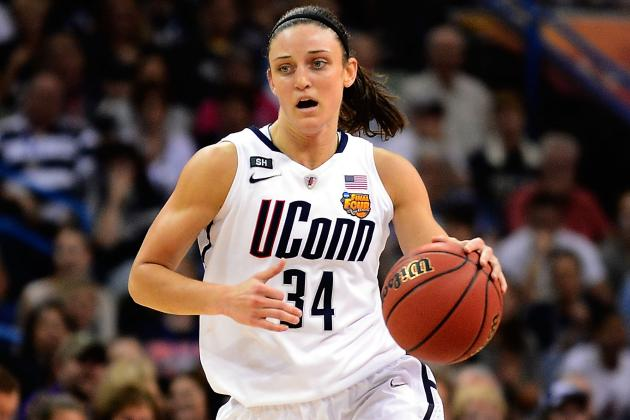 Sun Take UConn's Faris in 1st Round of WNBA Draft
