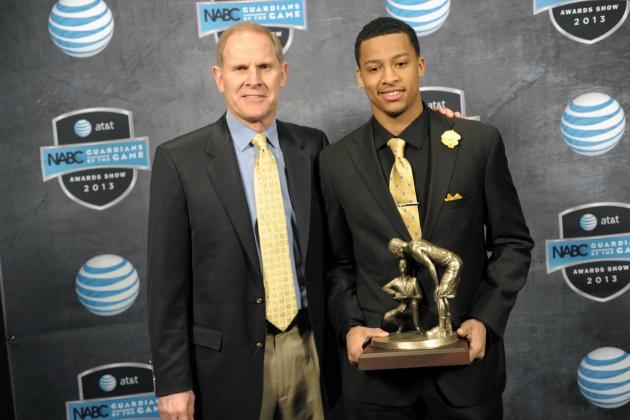 Michigan's Beilein Happy for NBA-Bound Trey Burke, Who Filled 'Great Void'