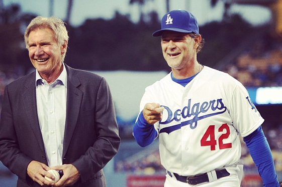 Instagram: Harrison Ford on Jackie Robinson Day