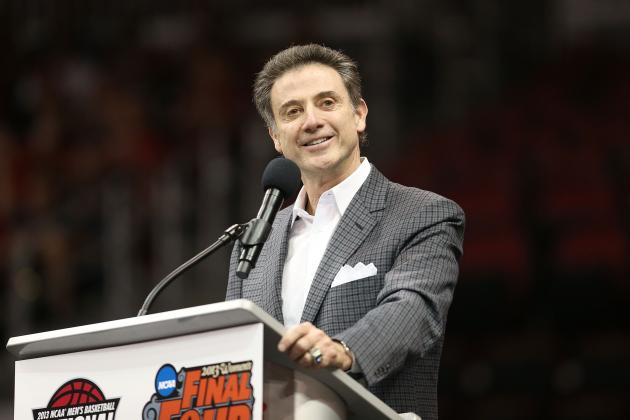 Louisville Basketball Coach Rick Pitino Switches to Comfort Zone