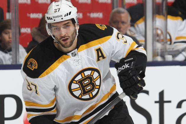 Bergeron, Marchand Could Return Tomorrow