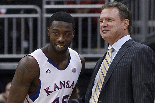 Bill Self Burns Elijah Johnson (VIDEO)