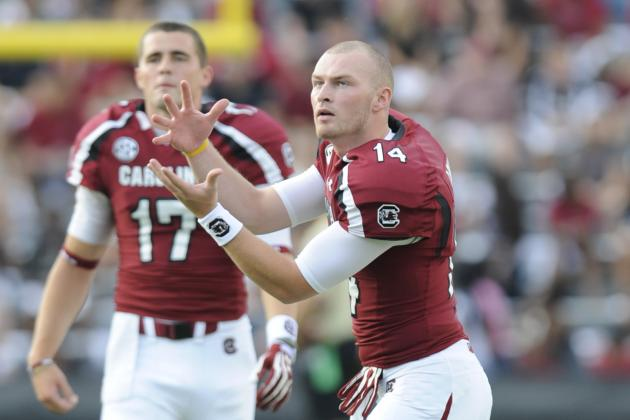 South Carolina Looks Awfully Comfortable Running a Two-QB System