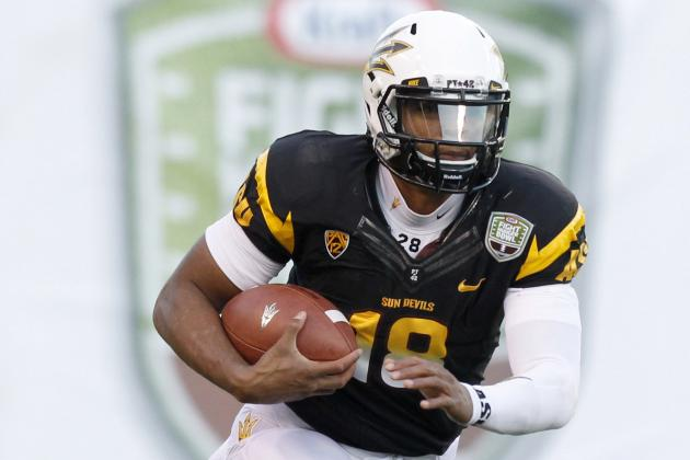 ASU Shows Some Spark with Offense in Spring Game