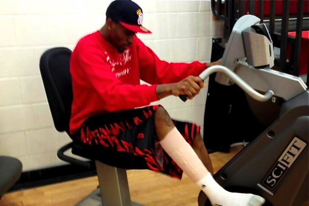 Kevin Ware Harnesses Inner Kobe Bryant During Rehabilitation Process