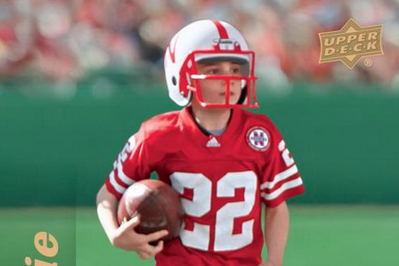 Seven-Year-Old Nebraska Running Back Sensation Gets a Trading Card