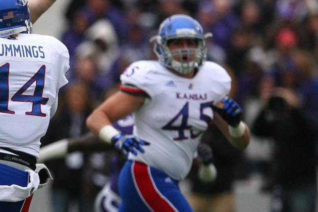 KU Football Player Nick Sizemore Arrested on Suspicion of DUI