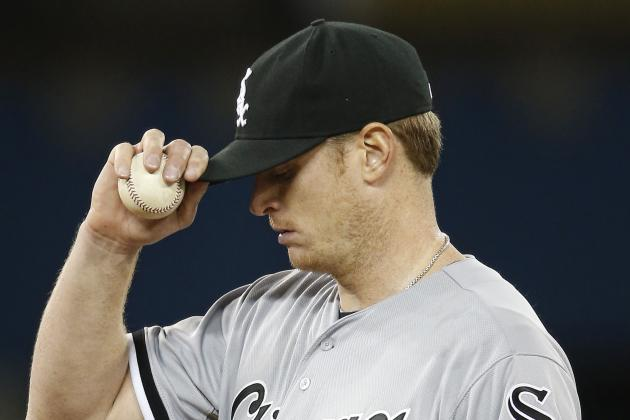 Why Chicago White Sox Must Replace Gavin Floyd in Starting Rotation Immediately