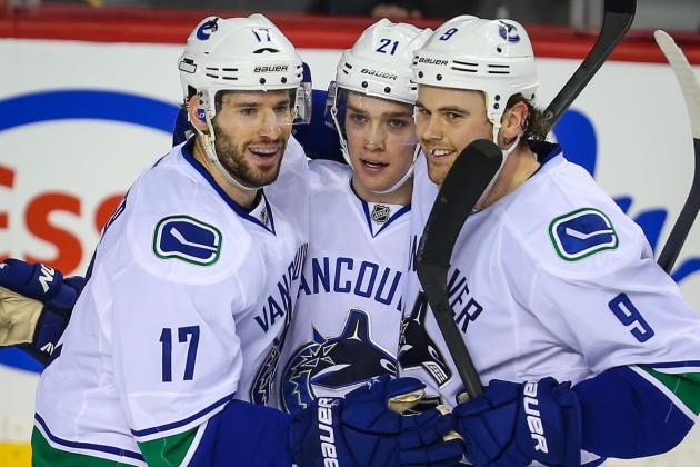 Canucks Wobble but Stand Up to Predators, 5-2