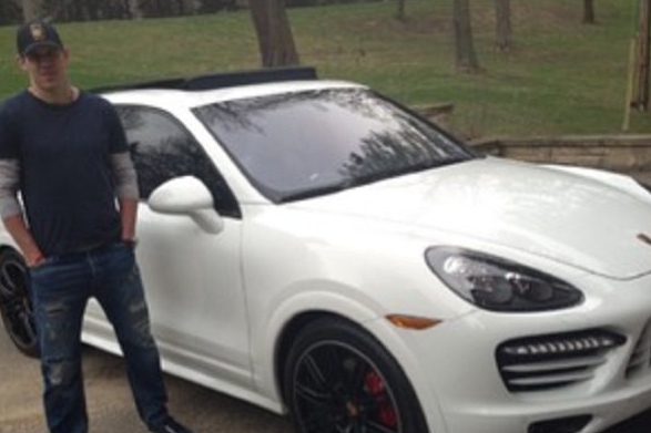 Instagram: Malkin's Slick New Porsche