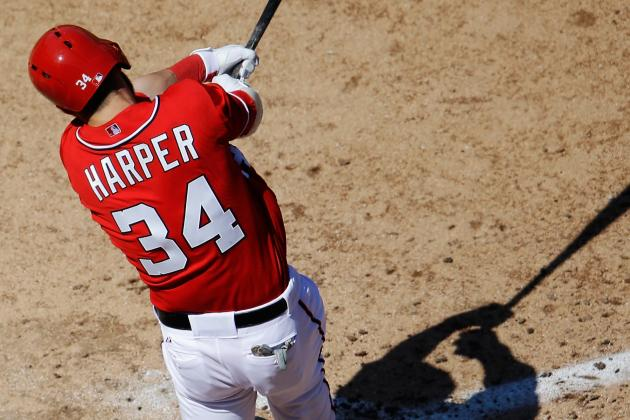 Harper Getting Day off Tonight vs. Marlins