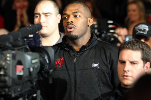 Jon Jones vs. Chael Sonnen: Trash Talking Adds More Intrigue to UFC Title Fight