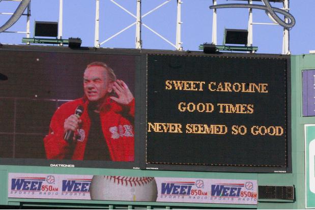 NYY to Honor Boston with 'Sweet Caroline'