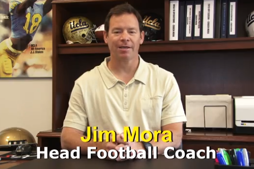 UCLA Head Football Coach Jim Mora Speaks out in Support of Gay Players, Coaches