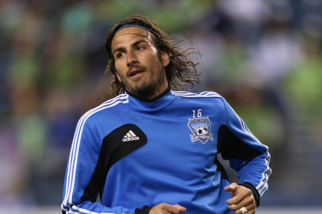 San Jose Earthquakes Striker Alan Gordon Suspended 3 Games for Homophobic Slur