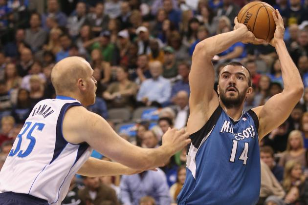 Adelman Wants Pekovic to Add Finesse to His Game