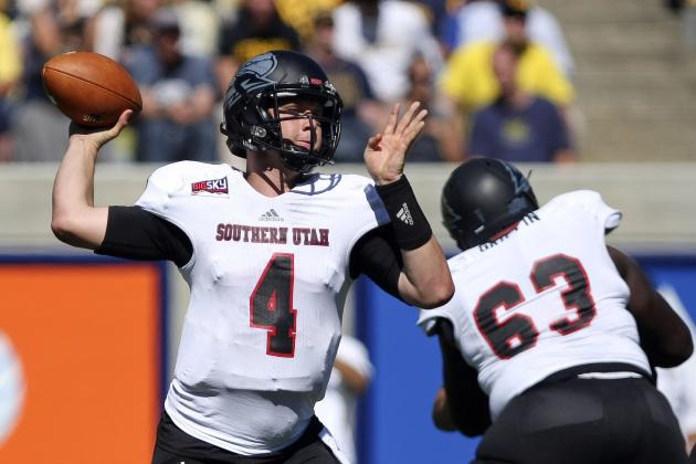 Brad Sorensen Scouting Report: NFL Outlook for Southern Utah QB