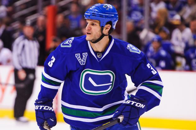 Bieksa out Tonight vs. Blues with Lower-Body Injury